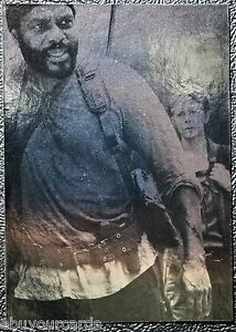 Walking-Dead-Season-4-Silver-Foil-Numbered-Parallel-Chase-Trading-Card-D1-12-99