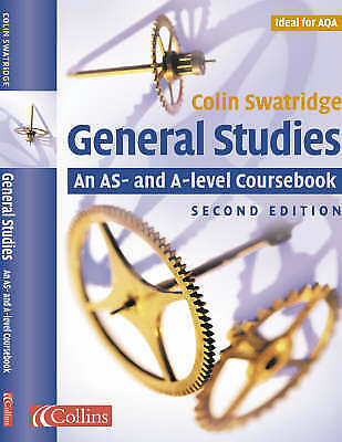Collins General Studies - AS and A-level Courseb, Colin Swatridge, Excellent