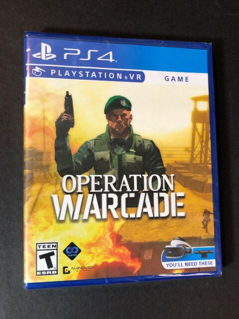 Operation Warcade [ PS VR Game ] (PS4 / PSVR) NEW