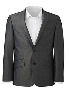 918cec8c62a Image is loading Williams-amp-Brown-Charcoal-Tonic-Suit-Jacket-54