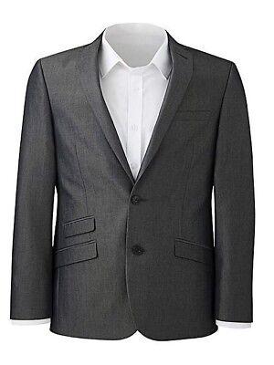Brand New Jacamo Williams /& Brown London Tonic Suit Black Jacket Choose Sizes