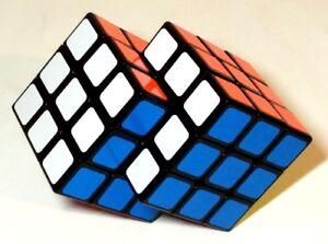 DéLicieux Fondue Rubik étiqueté Cubes Fonte Cube Fondu Rubix Tordu Puzzle Siamois-afficher Le Titre D'origine