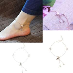Women-Butterfly-Chain-Anklet-Ankle-Bracelet-Barefoot-Sandal-Beach-Foot-Jewelry