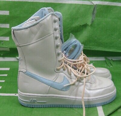 """new Nike Air Force 6/""""Ice Blue 314389 141 Womens Size 7"""