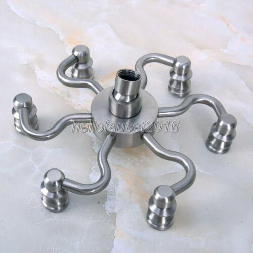 Bathroom Accessories Brushed Nickel Bathroom Rain Shower Head lsh216