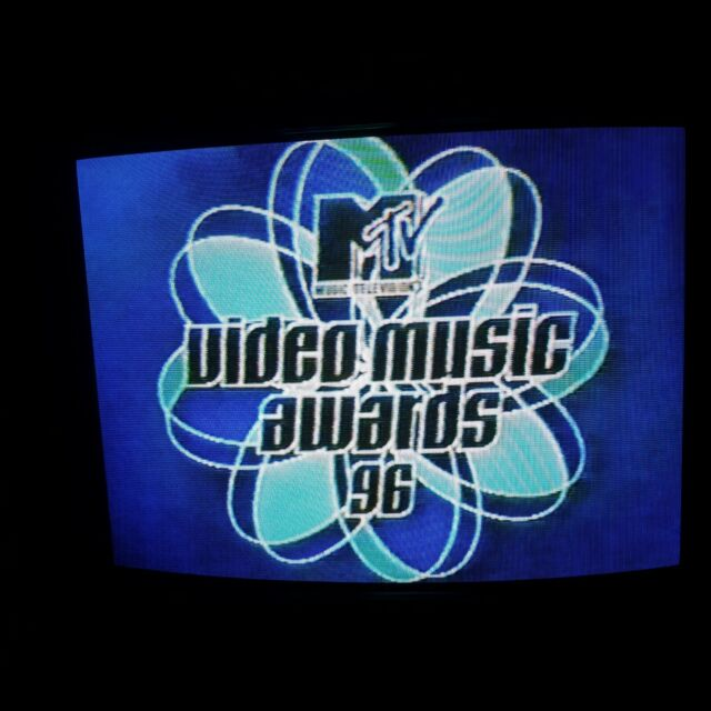VHS Sold as Blank ~ 1996 MTV Video Music Awards VMA's with COMMERCIALS