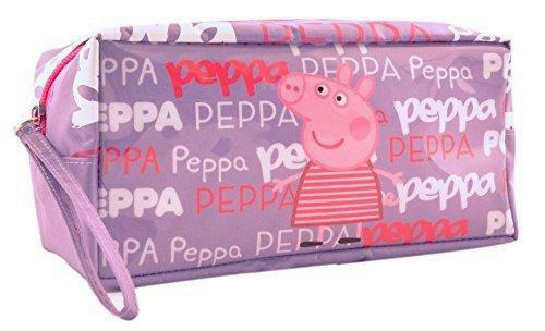 Peppa Pig Pencil Case Toiletry Wash sac avec sangle