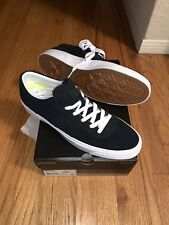 839ab2ff8ab0 Converse Cons One Star Cc Ox Skateboarding Shoes. 10.5 Black. New In Box.