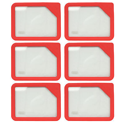 Pyrex Ultimate OV-7200 2 Cup Round Red No Leak Storage Lid 4PK for Glass Bowl