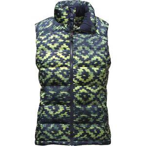 667fcddb7496 Women s North Face Cosmic Blue Dkat Print Nuptse 2 700 Down Vest ...