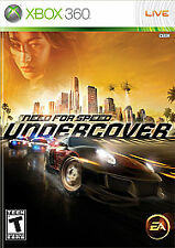 Need For Speed Undercover Microsoft Xbox 360 2008 For Sale