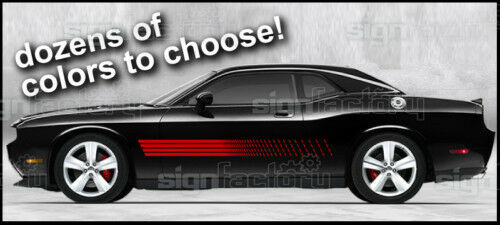 Dodge Challenger TA Style  Graphics RT SRT 2009 2010 2011 2012 2013 2014 2015 20