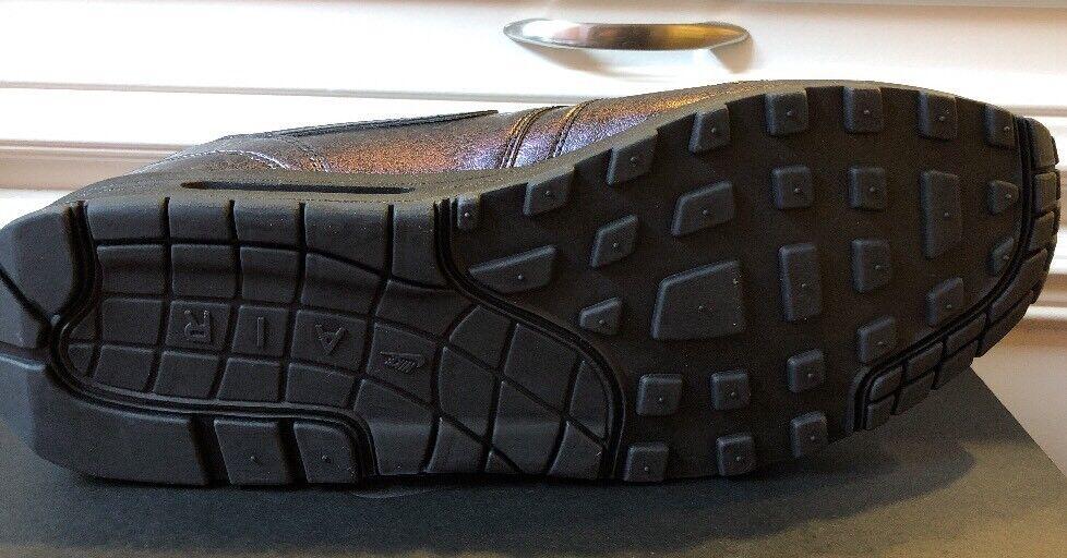neue schwarz nike air max 1 schwarz neue schillernden mono - perle nikeid größe 15 männer. c75cdd