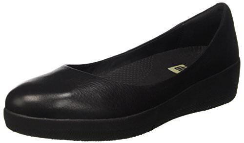 FitFlop Donna Leather Superballerina Ballet Flat- Flat- Flat- Select SZ/Color. 80a76c