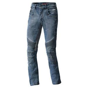 NEU-Held-Road-Duke-Motorradjeans-mit-Protektoren-blau-Gr-36-Armalith-Jeans