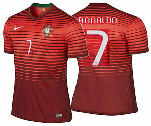 e95613d76 NIKE CR7 C. RONALDO PORTUGAL AUTHENTIC HOME JERSEY FIFA WORLD CUP ...