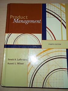 lehmann and winer%2C product management%2C mcgraw hill%2Firwin  Product Management Fourth Edition Donald R. Lehmann McGraw-Hill ...