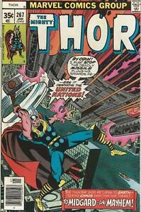 Marvel-Comics-Mighty-Thor-Vol-1-1966-Series-267-VF-8-0