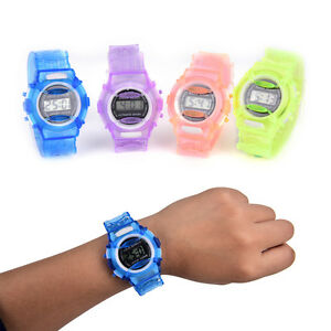 Fashion-Boy-Girl-LED-Uhr-Student-Digital-Sport-Armbanduhren-WQ
