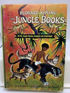 The Jungle Books - Rudyard Kipling - Tibor Gergley - Golden Illustrated Classic
