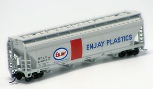 Atlas-N-Scale-ACF-5250-Hopper-Enjay-Plastics