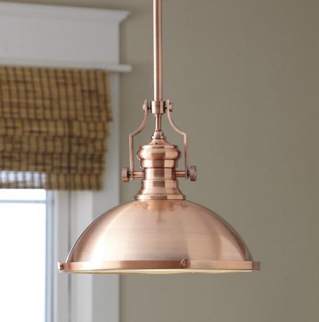 Elk Lighting Chadwick 1 Light Bowl Pendant Antique Copper 33cm Dia