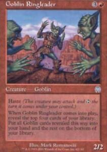 T-Chinese Goblin Ringleader ~ Near Mint Apocalypse Foreign UltimateMTG Magic Red
