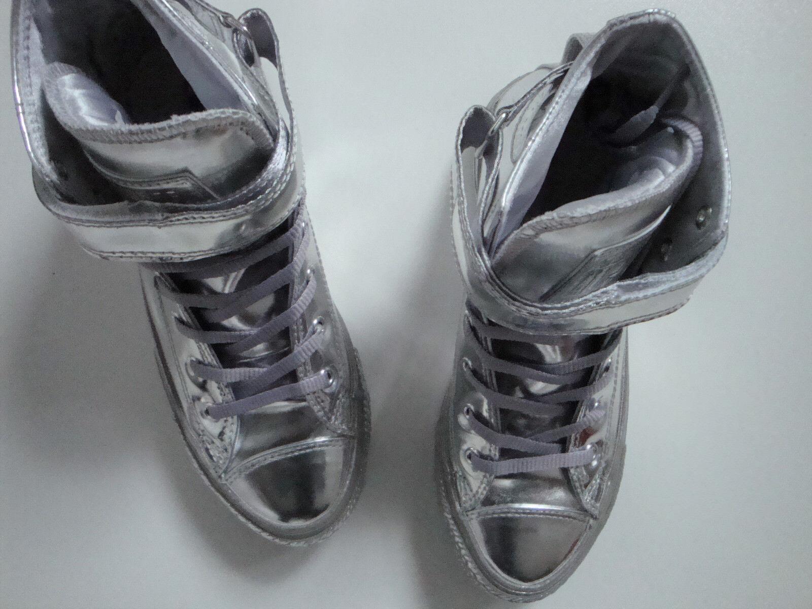 CONVERSE All Star  Turnschuhe    Schuhe Silber Gr. EUR 36 UK 3,5  US 5,5  CM 22,5 Neu a91d77