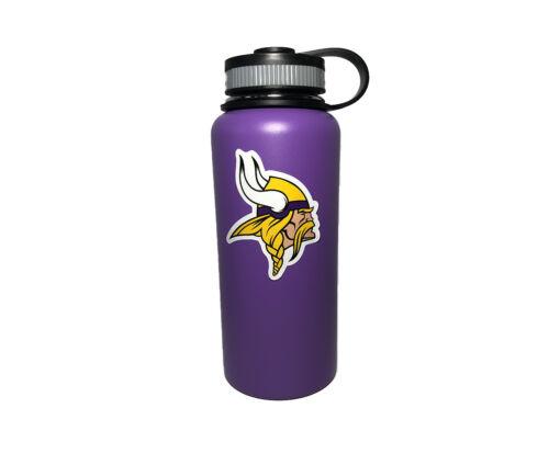 Minnesota Vikings Stainless Steel Water Bottle 32oz