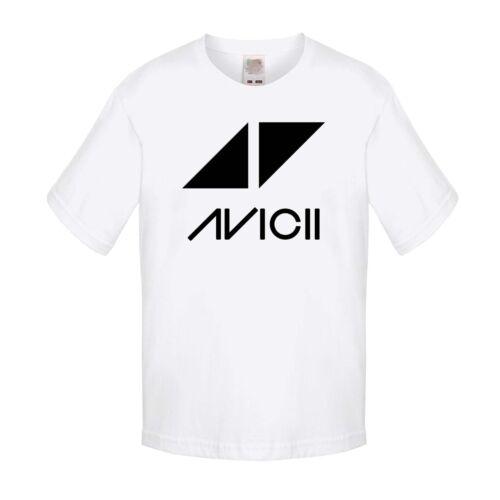 BABY//KID//TODDLER White T-Shirt Avicii 1 DJ Music Festival Tee