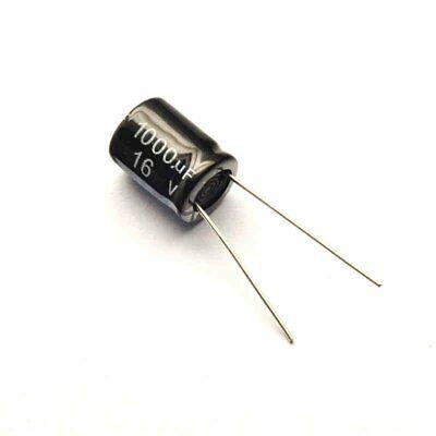 2PCS 50V 1000uF 50Volt 1000MFD Electrolytic Capacitor 16×20 Radial