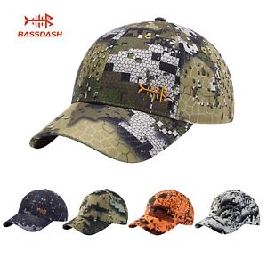 Bassdash Tactical Sports Baseball Cap Fishing Outdoor Hunting Hat Adjustable New