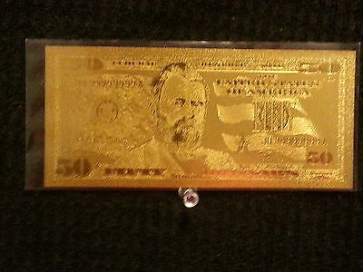 24 KT GOLD Vietnam GOLDEN NOTE* COMES IN BILL ONLY