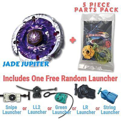 Jade Jupiter S130RB Beyblade STARTER SET w// Launcher /& Ripcord USA SELLER!