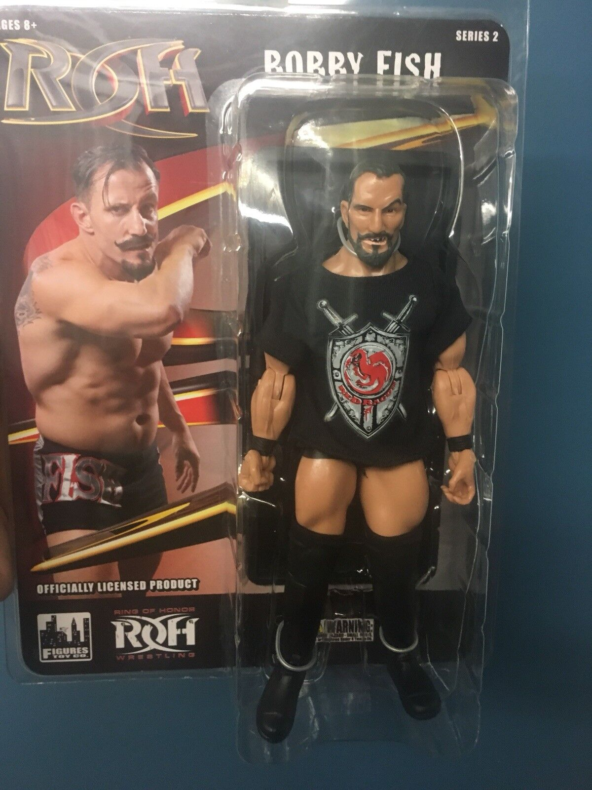 Ring Of Honor Bobby Fish Figure Doll Undisputed Era NXT WWE ROH Free Shipping