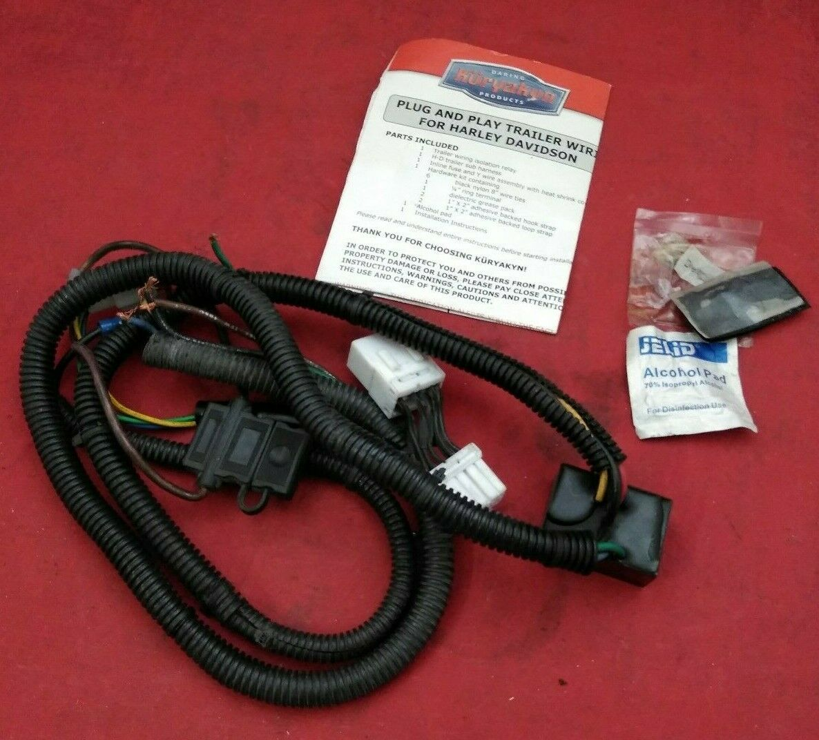 Harley Davidson Wiring Harness Receptacle on