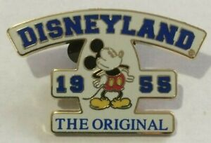 Mickey-Mouse-1955-orignal-sign-retro-DLR-disneyland-THE-ORIGINAL-Disney-pin-K
