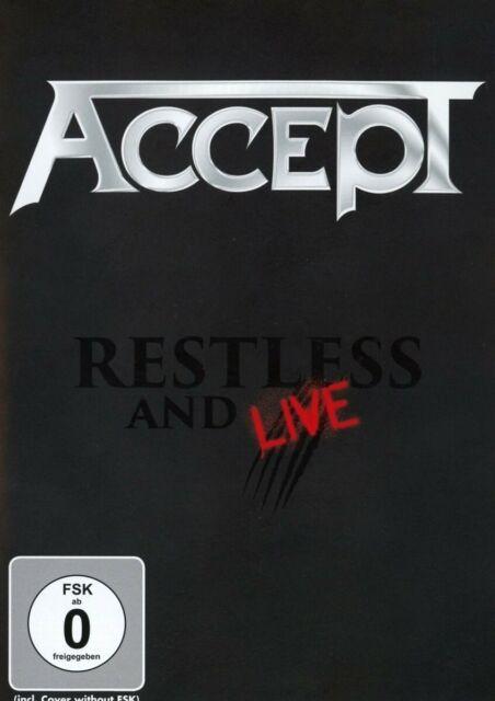 ACCEPT - RESTLESS & LIVE   DVD NEW!