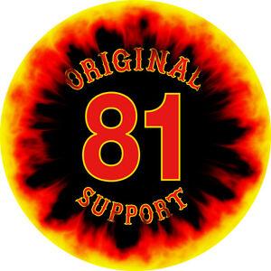 gro er hells angels support 81 deko aufkleber 3 motive 75 cm original 81 ebay. Black Bedroom Furniture Sets. Home Design Ideas