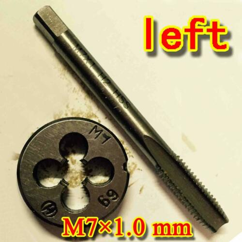 1set  HSS M7 × 1.0 mm left Hand machines tap and die Threading Tool Metric