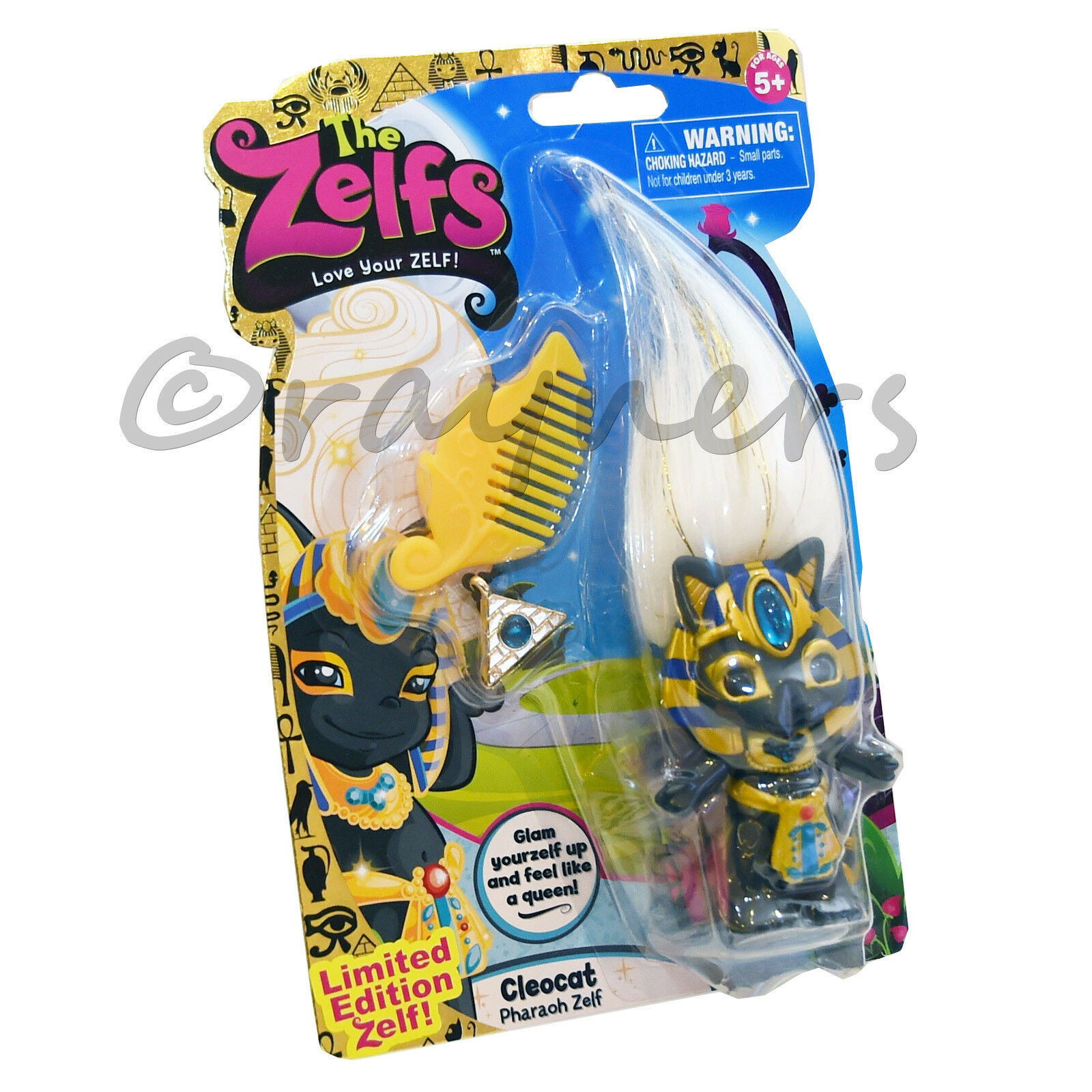 New The Zelfs Cleocat Limited Edition Series 4 Medium Zelf (Pharaoh Zelf)