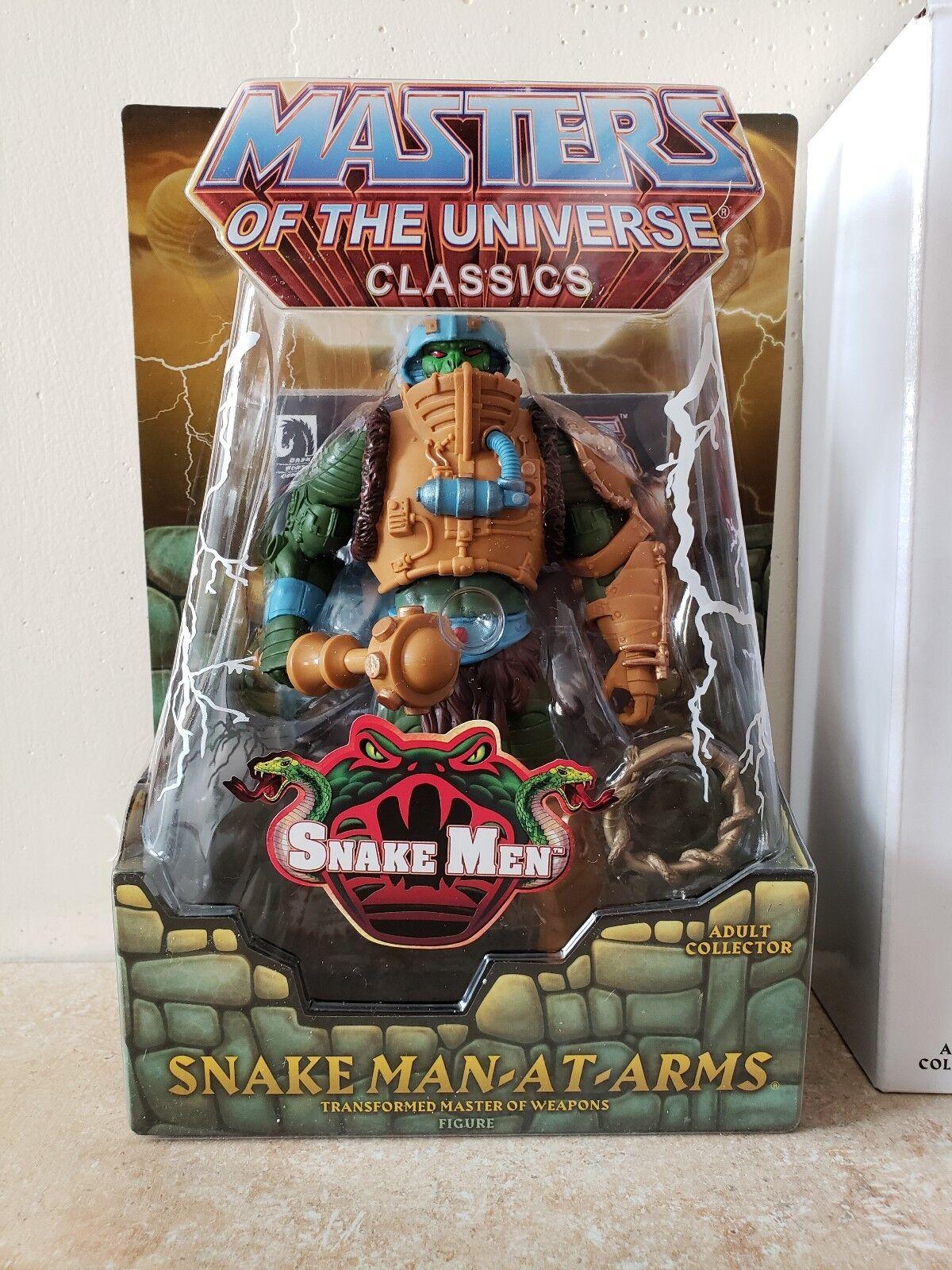 Tab  off Masters Of The Universe classeeics Snake uomo-At-Arms Mailer MOTU He-uomo  vendendo bene in tutto il mondo