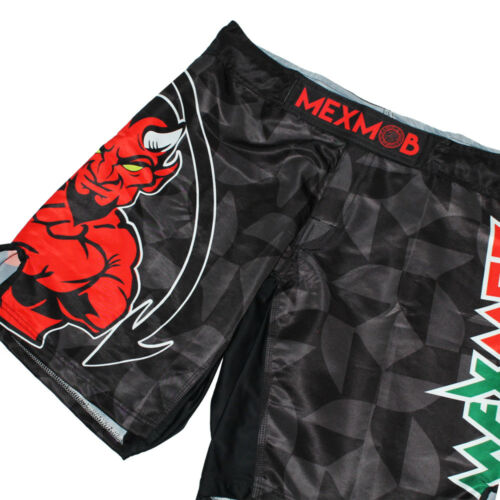 MEXMOB DEVIL MMA JIU JITSU GRAPPLING BOX FIGHT SHORT