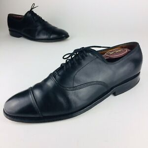 Details about Allen Edmonds Park Avenue Cap Toe Oxfords Black Leather Dress Shoes Mens 10 C