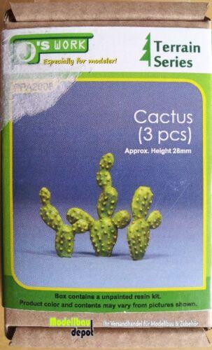 J/'s Work 2008 Kaktus 3 Stück   1:35