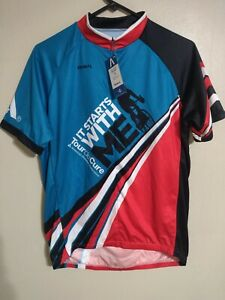 Primal  Full Zip Cycling Vest LG Tour De Cure