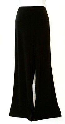 Ann Taylor size 8 black rayon polyester stretch dress pants