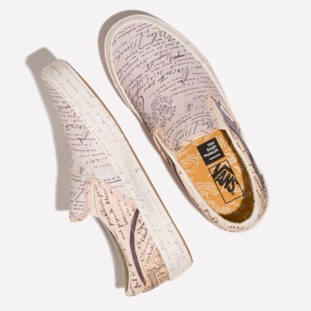 Vans x Vincent Van Gogh Museum Slip on Letters to Theo VN0A38F7U7T