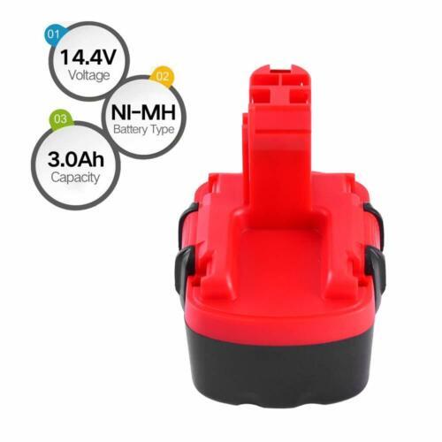 Batterie 14.4V NiMh 3Ah Bosch BAT038 BAT040 BAT041 BAT140 BAT159 Outil Bricolage