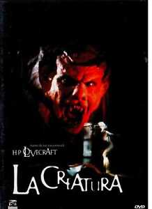 LA-CREATURA-DVD-SIGILLATO-H-P-LOVECRAFT-raro-horror-fuori-catalogo